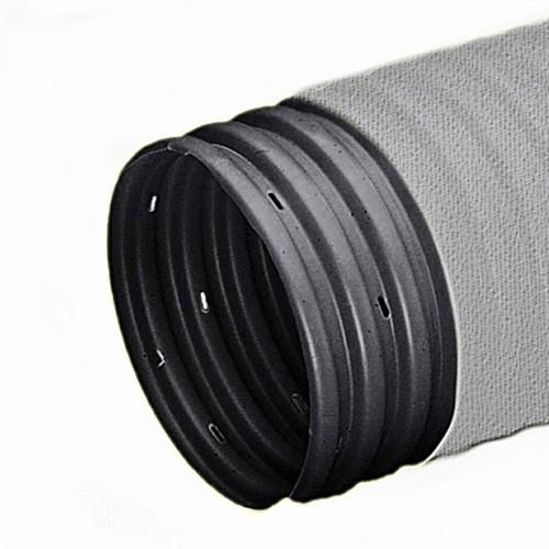 Дренажная труба в геотекстиле D 200 мм